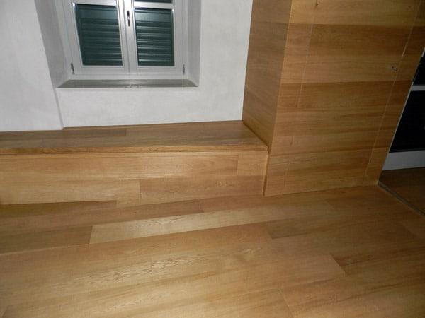 Boiserie reggio emilia quattro castella in legno moderne - Costo isolamento acustico camera da letto ...